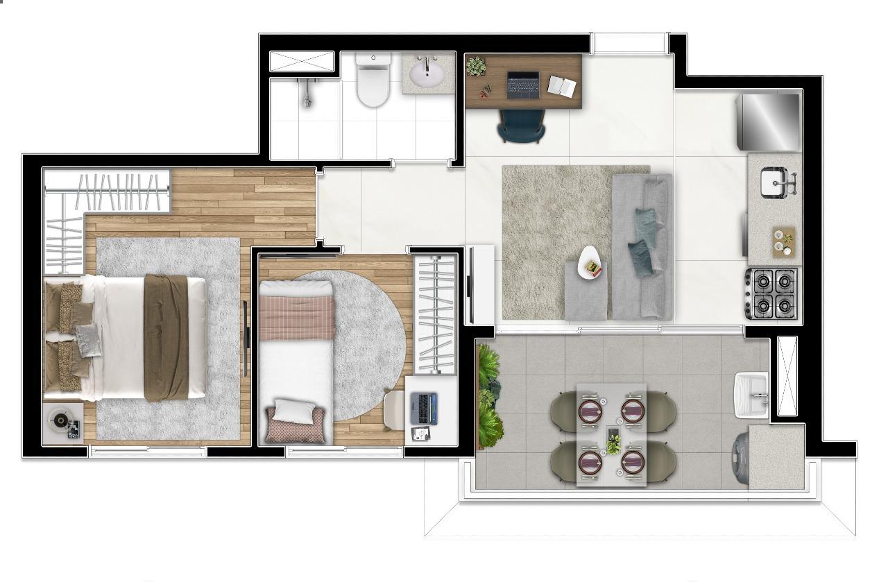 41m² | 2 Dorms
